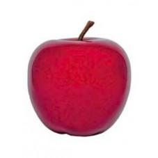 Pomme décorative  - rouge