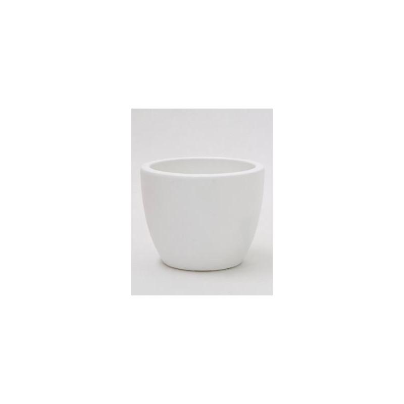 Vente de pot d coratif blanc for Gravillon decoratif blanc