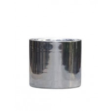 Bac à plantes - aluminium poli