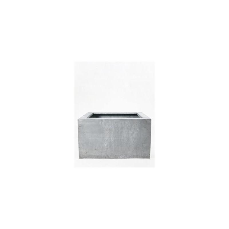 bac plantes acier galvanis. Black Bedroom Furniture Sets. Home Design Ideas