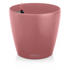 Bac rond synthétique rose