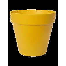 pot pour plante ocre jaune