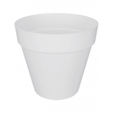 pot pour plante blanc