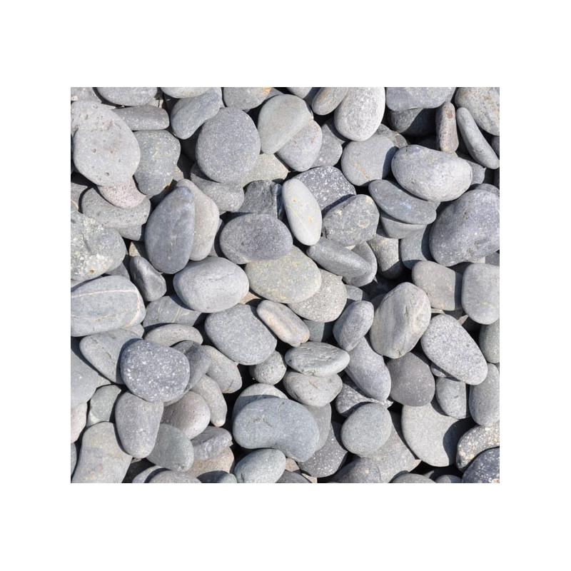 Galets décoratifs gris