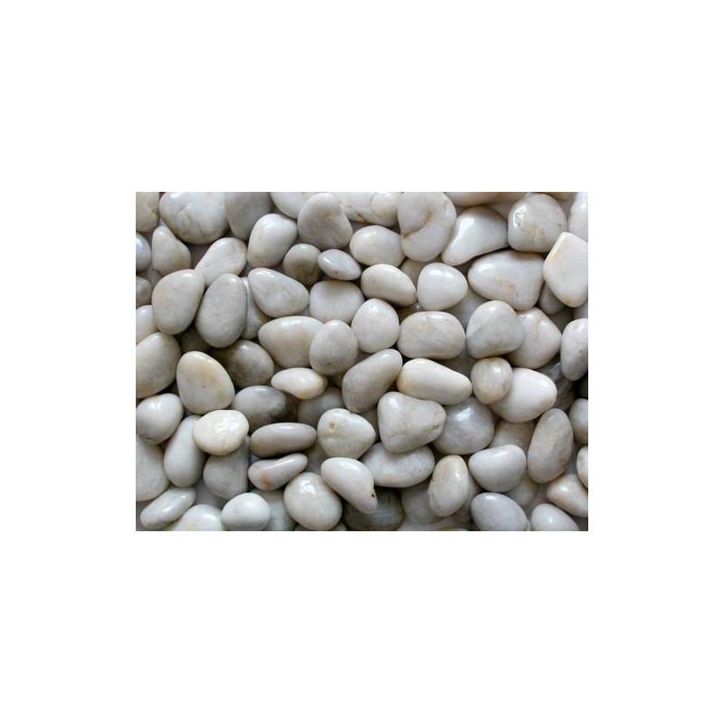 Galets décoratifs jasmin 3/6 cm